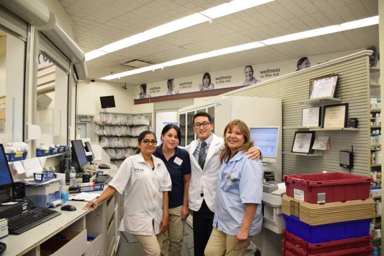 Loma Linda University School of Pharmacy Students
