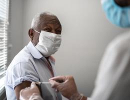 Black vaccines in community